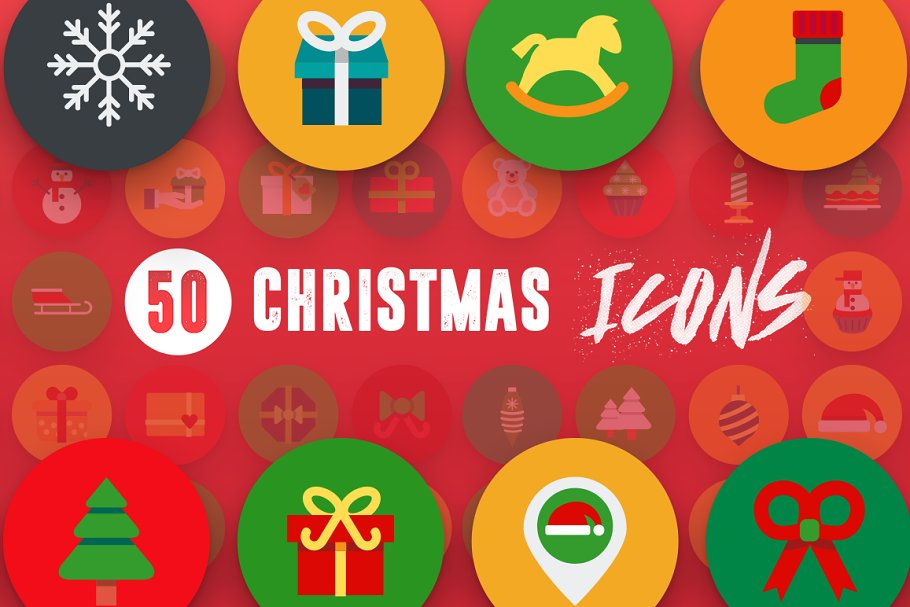 50 Christmas Icons Vol.2 in Christmas Icons - product preview 7
