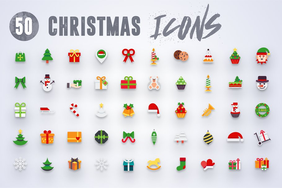 50 Christmas Icons Vol.2 in Christmas Icons - product preview 4