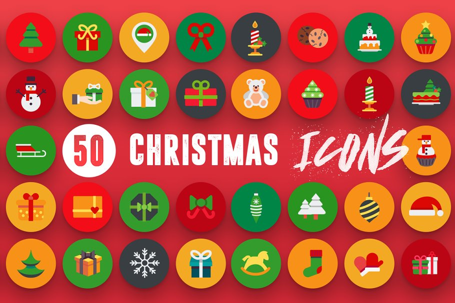 50 Christmas Icons Vol.2 in Christmas Icons - product preview 6