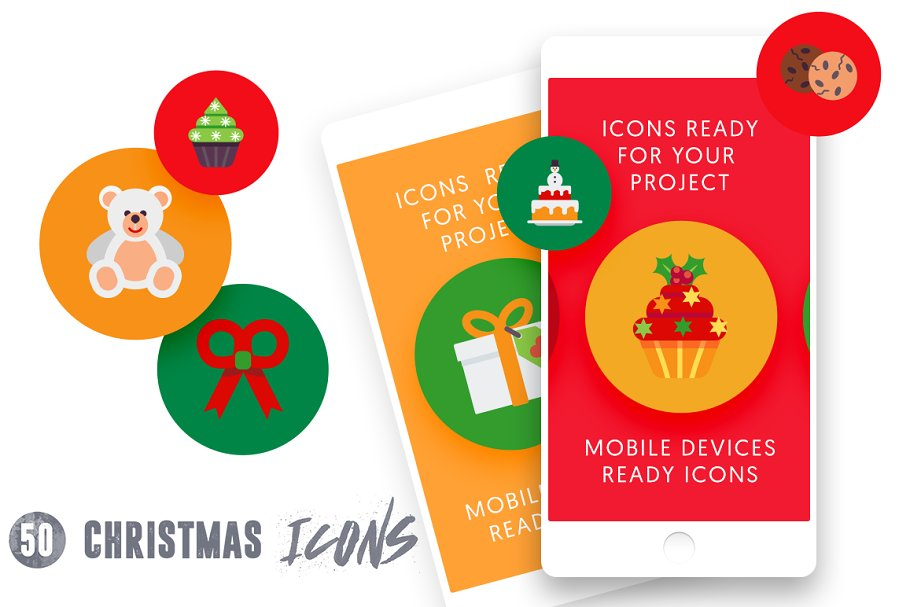 50 Christmas Icons Vol.2 in Christmas Icons - product preview 2