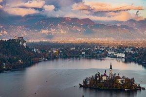 Lake Bled, Slovenia Europe