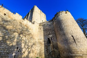 Royal City of Loches (France)
