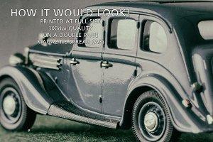 Vintage Wolseley car