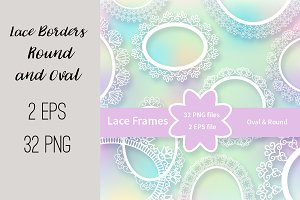 №210 Lace Frames Borders-2