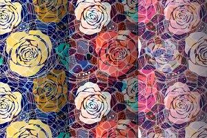 3 Roses Patterns