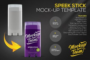 Speek Stick Mock-up Template