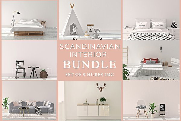 Scandinavian Interior Bundle .Jpg