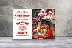Holiday Mini Session Template-V431