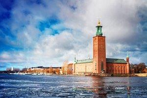 cityhall of Stockholm, Sweden