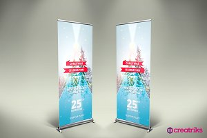 Christmas Up Banner - v056