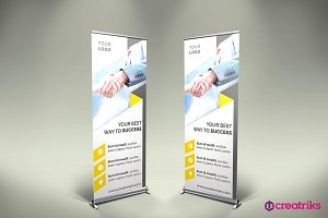 Corporate Up Banner - v057