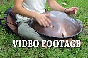 VIDEO-FOOTAGE. drum metal