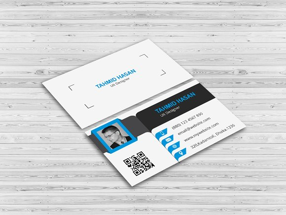 Corporate Personal Business Card Business Card Templates - Personal business cards template