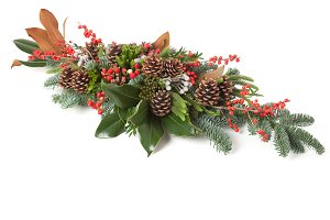 Chrismas floral arrangement