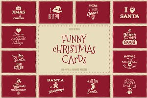Christmas Background Cards & Posters