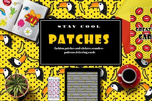 Fashion patches and stickers