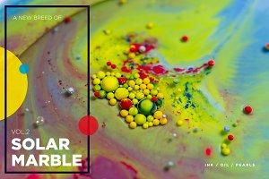 Solar Marble Textures | VOL.2