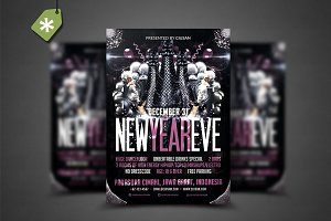 New Year Eve Flyer Template 2