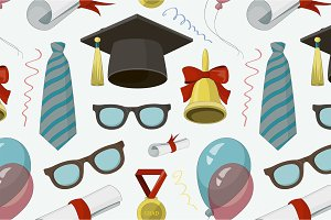 Graduation elements set pattern