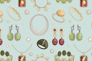 Jewelry set pattern
