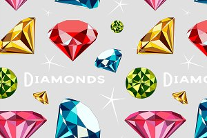 Pattern of Diamonds