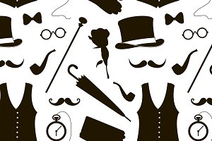 vector elements for gentlemen