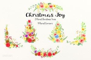 Floral Arrangement 1 Christmas Joy