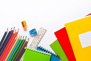 School and office supplies.