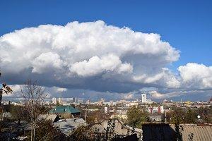 Donetsk city panorama