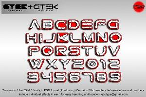 Gtek Broken & Gtek Minimal Psd