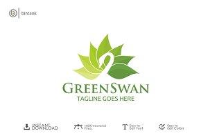 Green Swan Logo
