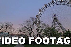 Giant Ferris Wheel in Vienna,