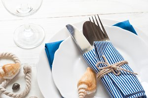 Marine table setting