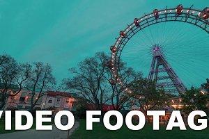 Timelapse of Vienna Giant Ferris