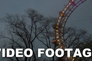 Giant Ferris Wheel in the evening
