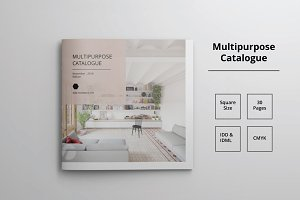 Square Catalogue Template Vol.I