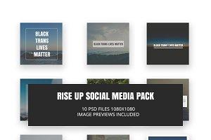 RISE UP Social Media Pack
