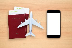 Boarding passes and smartphone