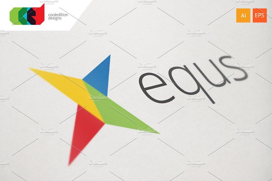 Equs - Logo Template