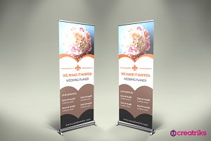 Wedding Up Banner - v058