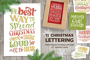 Christmas Lettering Collection 2