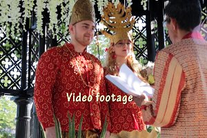 Wedding by Eastern traditions