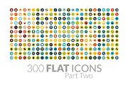 300 Flat Icons - Part Two