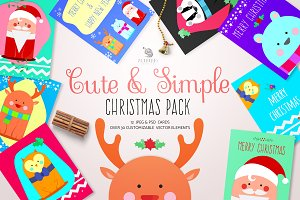 Cute&Simple Christmas Pack