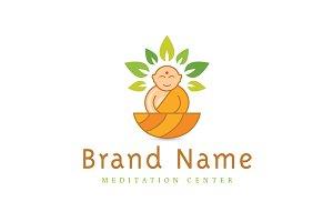 Zen Monk Logo