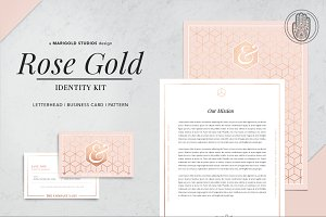 ROSE GOLD | Identity Kit