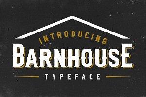 Barnhouse Typeface