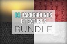 93 Backgrounds & Textures Bundle
