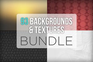 93 Backgrounds & Textures Bundle