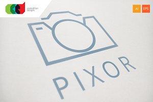 Pixor - Logo Template